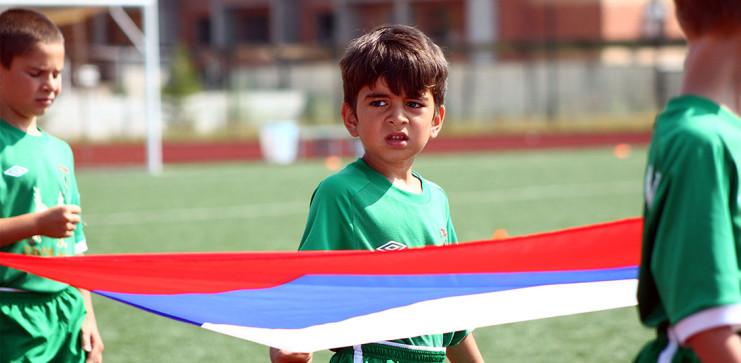 Церемония открытия V юбилейного Кубка Дружбы в Казани