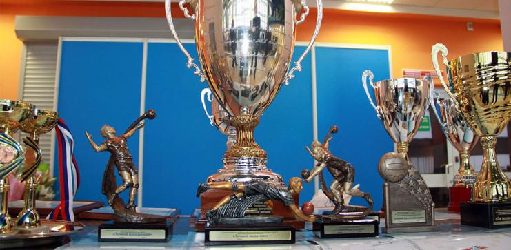 Церемония награждения VII Всероссийского турнира по волейболу